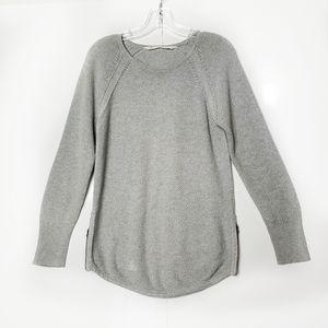 Athleta Long Sleeve Sweater Crew Neck